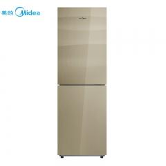 美的冰箱BCD-268WGM格调金