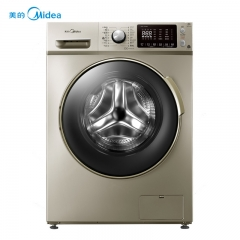 美的(Midea)MD80-1433WDG 8公斤 洗烘一体机 智能操控 变频节能