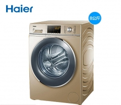 Haier/海尔 G80678BX14G全自动8公斤超薄水晶直驱变频滚筒洗衣机家用 8公斤