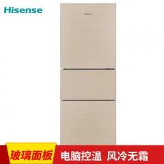 海信冰箱(Hisense)BCD-222WTDG水晶石纹金