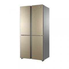 海尔冰箱BCD-485WDCZ 485升变频风冷无霜多门冰箱干湿分储五区保鲜 香槟金