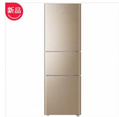 海尔冰箱BCD-206STPP直冷(手动除霜)深林棕  206升三门直冷冰箱