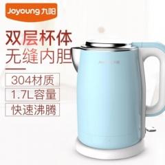九阳(Joyoung) 电水壶自动断电 食品级304不锈钢 电烧水壶 家用 防烫 K17-F5