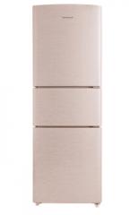 容声(Ronshen)BCD-221WKD1NE钛空金 221升家用三门三温区风冷无霜电冰箱节能