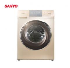 三洋洗衣机DG-F100587BHCP 新品上市 智能烘干 健康空气洗 筒清洁