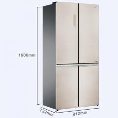 Ronshen容声冰箱BCD-646WKK1HPGA 十字对开多门风冷无霜变频冰箱