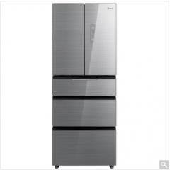 美的冰箱(Midea) BCD-406WGPZM冰川银(微晶一周鲜)