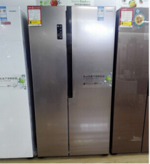 容声 BCD-536WRS1HP 536升家用对开门变频无霜风冷冰箱 靓雅钢
