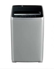 三洋洗衣机8公斤全自动波轮洗衣机 大容量洗涤 安全童锁 DB80358ES 亮灰色