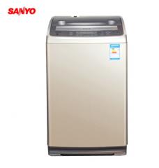 三洋洗衣机DB80577IES 全模糊智能洗涤一键操控 8公斤 全自动波轮洗衣机