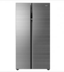 海尔冰箱BCD-600WDCV对开风冷(自动除霜)时光轨迹【布朗灰】