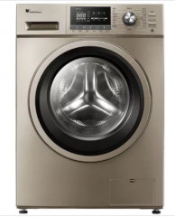小天鹅洗衣机 TD100-1411DG  10公斤 滚筒 洗干一体 1400转 变频 金