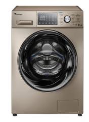 小天鹅TG90-1426MADG 9kg家用全自动滚筒洗衣机智能变频水魔方银离子杀菌 金色