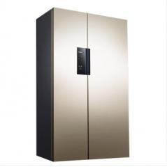 西门子(SIEMENS)610升 KA92NE33TI 淡金色 对开门冰箱变频风冷无霜香槟金