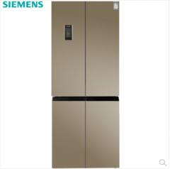 西门子(SIEMENS) KM46FSGETI  452升 金棕玻璃十字对开门 零度无霜保鲜冰箱