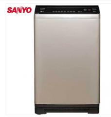 三洋洗衣机9公斤全自动直驱变频波轮洗衣机DB90377BYE 玫瑰金