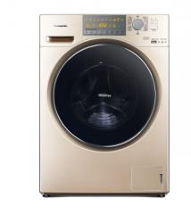 松下洗衣机10公斤 变频 洗烘一体滚筒洗衣机 XQG100-EG13N 香槟金
