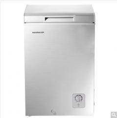 容声(Ronshen) BD/BC-100MS 100立升 卧式 冰柜 时尚外观 拉丝银