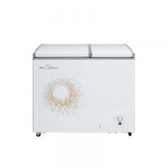 美的冷柜-BCD-220DKMA旋律金