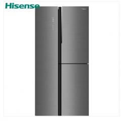 海信冰箱559升冰箱T型多门智能家用变频电冰箱BCD-559WTDGVBP/A幻影钛晶