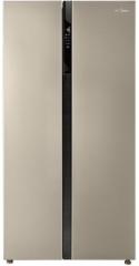 美的冰箱-BCD-552WKPM(Q)爵士棕