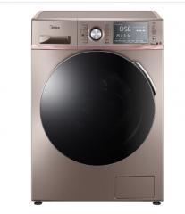 美的洗衣机MD100-1415ADQCJ 10kg 快净洗大容量变频滚筒洗烘全自动洗衣机