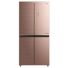 美的冰箱-BCD-435WGPM安第斯玫瑰金