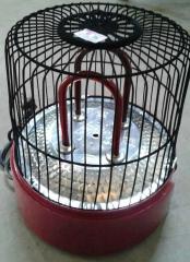 桃花源牌熊猫红管鸟笼取暖器 颜色随机