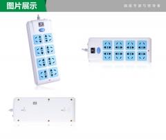 公牛BULL 过载保护电源插座接线板 插线板 拖线板插排3米GN-217图片色3米图片色3米