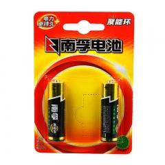 Nanfu/南孚 碱性电池五号 5号2粒挂卡装LR6-2B