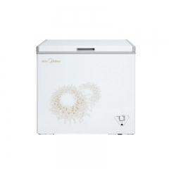 美的冷柜BD/BC-197KMA旋律金 单温一室冷冻冷藏转换冷柜
