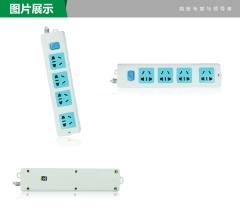 公牛Bull GN-410 单控四联接线板插座 拖线板 排插 插排 转换器 电源转换器图片色3米