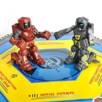正品热卖创高体感遥控拳击格斗对战机器人 亲子互动儿童益智玩具双人版不挑色